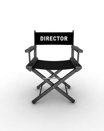 Director's chair. 3D generated image. Find similar files in my portfolio.