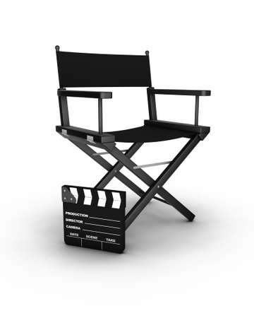Director's chair. 3D generated image. Find similar files in my portfolio Фото со стока