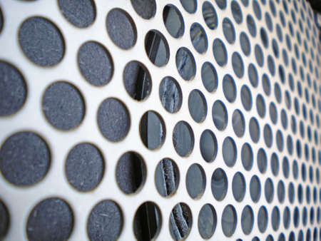 close up of a metal grill of an electric guitar amplifier Stock Photo - 11296838