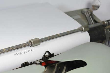 http:www written by an old typewriter