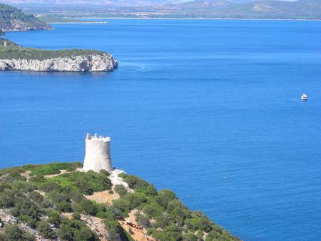 sighting: sighting tower in Sardinia,Italy