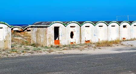 establishment: old bathing establishment by the sea
