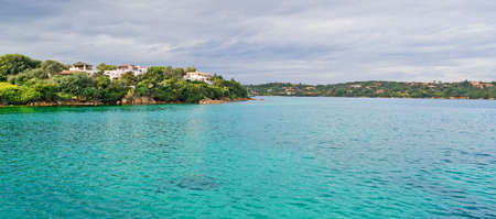 view of Porto Cervo emerald water Stock Photo - 16253671