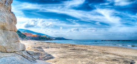foreshore: Sardinia foreshore in high dynamic range