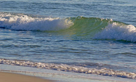 detail of a sea wave with skim Stock Photo - 16960032