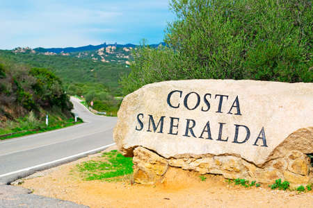 world famous Costa Smeralda rock