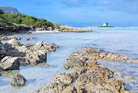 detail of Stintino seaboard rocks, Sardinia Stock Photo - 17731420