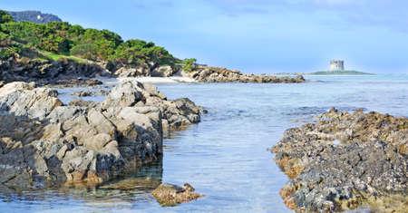 detail of Stintino seaboard rocks, Sardinia Stock Photo - 17731421