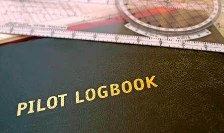 Pilot Logbuch und anderen Luftfahrt-Tools