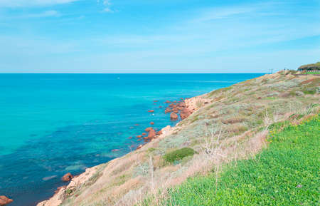 detail of Sardinian coastline Stock Photo - 18202056