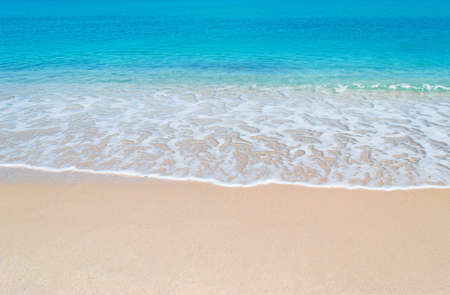 turquoise water and golden sand in Sardinia