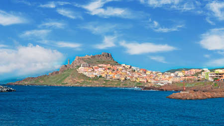 Castelsardo seen from the sea