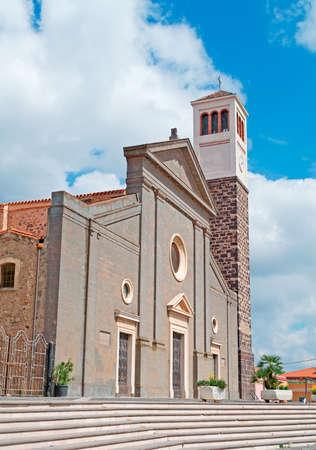 santa maria: Santa Maria church in Cabras, Italy
