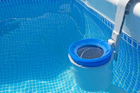 close up of a pool filter 스톡 콘텐츠