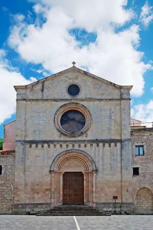 santa maria: Santa Maria church in Sassari, Sardinia Stock Photo