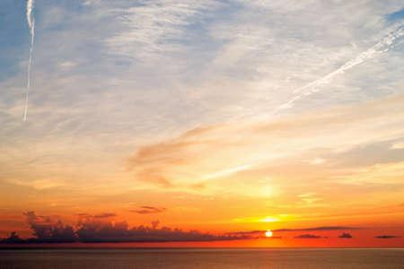 west  coast: sunset in Sardinia west coast