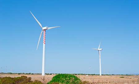 eolic: eolic blades in Sardinian countryside