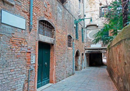 backstreet: old Backstreet in Venice, Italy