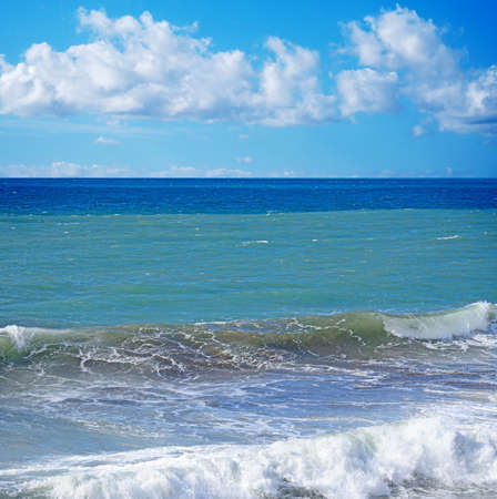wzburzone morze: