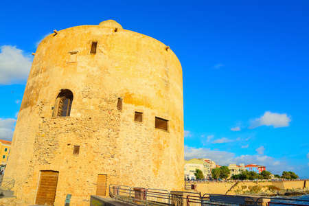 sighting: sighting tower in Alghero shore, Italy
