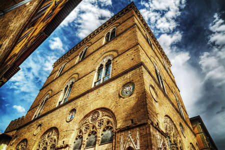 Orsanmichele church in Florence, Italy Stock Photo