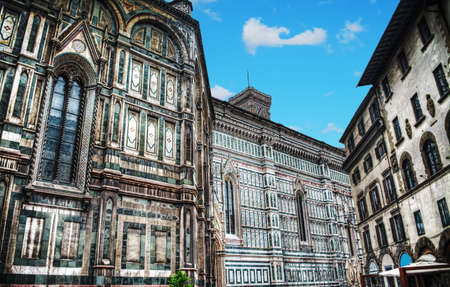 santa maria del fiore: Santa Maria del Fiore cathedral in Florence, Italy