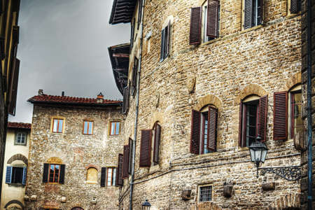 old  buildings: old buildings in Florence, Italy