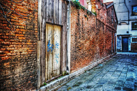 backstreet: picturesque backstreet in Venice, Italy