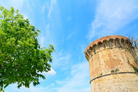 sighting: ancient sighting tower in San Gimignano, Italy
