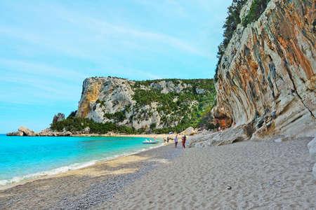 LUNA: Cala Luna on a clear day, Sardinia