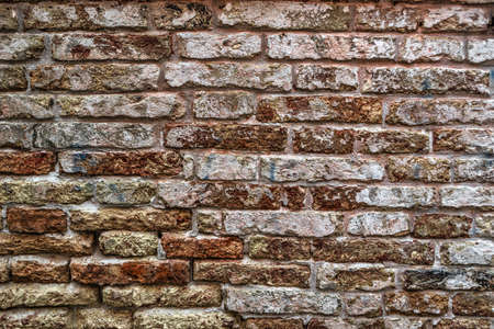 hdr background: background made with an old brick wall in hdr