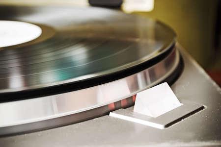 strobe: dusty record player strobe light