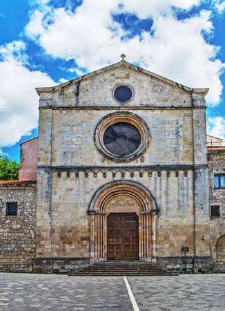 santa maria: Santa Maria di Betlem cathedral in Sassari, Italy Stock Photo