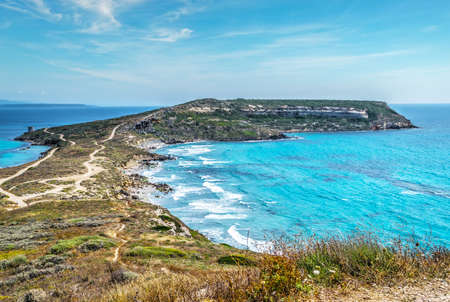 san marco: San Marco cape on a clear summer day, Sardinia