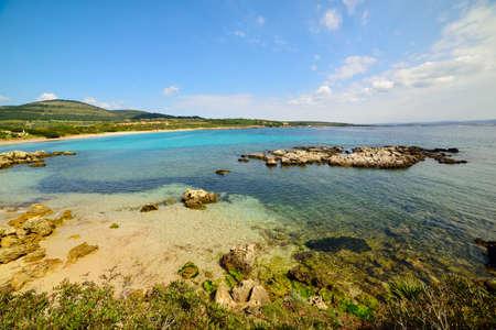 coastline: Turquoise water in Alghero coastline, Sardinia