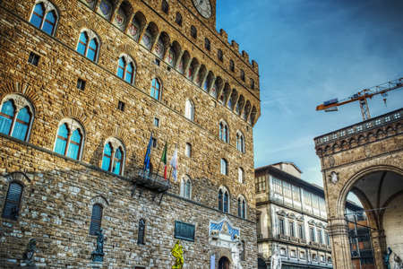 palazzo: Palazzo Vecchio in Florence, Italy