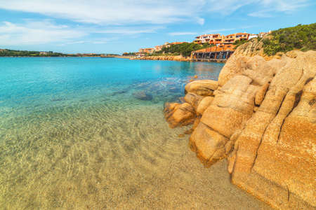 porto: rocks in Porto Cervo, Sardinia