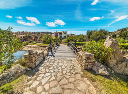 walk path: walk path in Porto Cervo, Sardinia