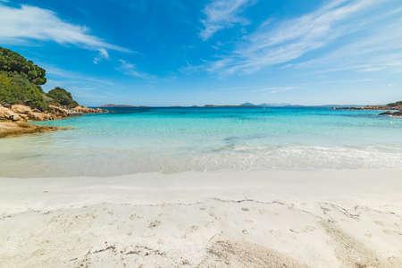 Capriccioli beach in the summertime, Sardinia