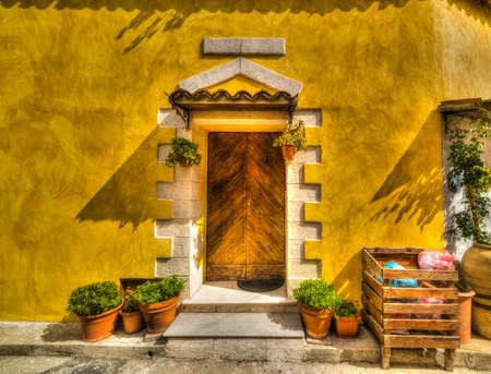 discolored: rustic corner in Sardinia, Italy
