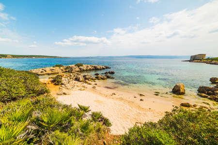 small cove in Alghero coastline, Sardinia Reklamní fotografie
