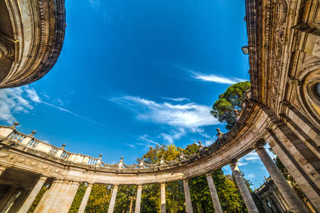 ancient thermal baths in Montecatini Terme, Tuscany