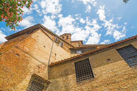historic buildings: historic buildings in Siena, Italy