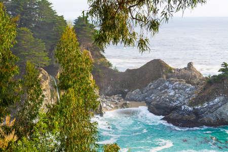 McWay falls in Big Sur state park, California