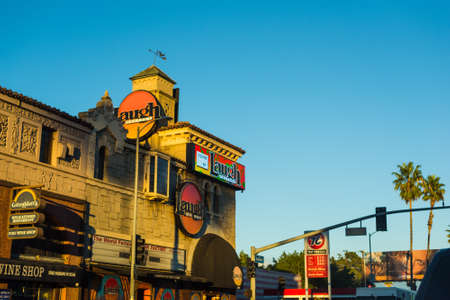 LOS ANGELES, CALIFORNIA - OCTOBER 28, 2016: Laugh Factory in Sunset strip, Los Angeles