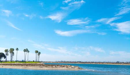 Mission bay in San Diego, California
