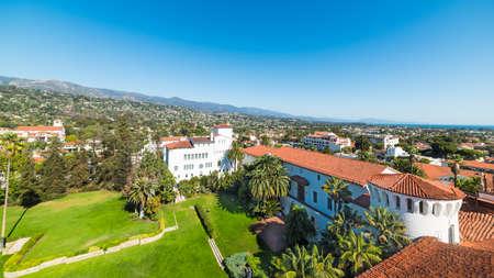 sunken: Sunken Gardens in Santa Barbara, California
