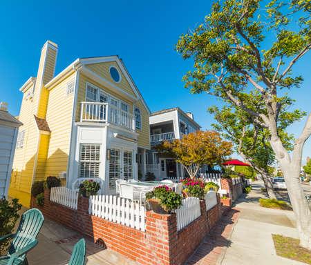 beautiful house in California, USA Stock Photo