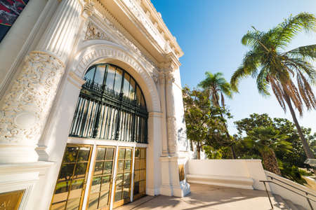 Natural History Museum in Balboa park, San Diego
