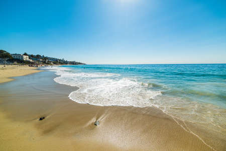 laguna: Sun shining over Laguna Beach, California